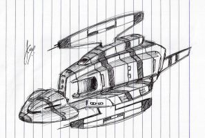 'Hornviper' Cruiser WIP by Inquisitor-No-7