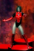 Red Lantern Corps 1 by sturkwurk