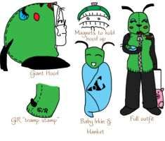 GiR outfit for Otakon by Pixelated-Beauty
