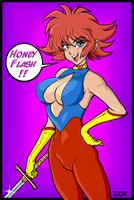 Cutie Honey by Retro-CCN