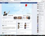 Facebook Timeline Design: Balloon by balancekanon