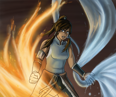 Legend of Korra by Arabesque91