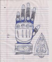 Unnamed Glove Number: 1 by Readme1212