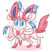 Sylveon by Eitriarch