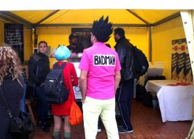 Lucca Comics 2012 - Badman Vegeta cosplay by pgv