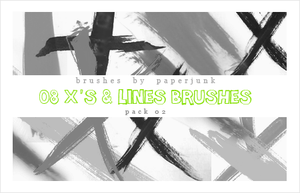 Brushes Pack 02: Lines by PaperJunk
