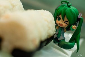 Onigiri Delight by KuroDot