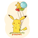 Pikaloon by alisadreams
