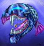 One Crazy Fish by GhettoRainbowCat
