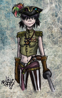 Noodle.Plastic beach by Basty007