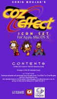 Coz Effect Icon Set for Mac by LordZoltan