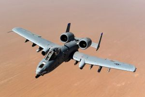 Fairchild Republic A-10 Thunderbolt II by GeneralTate