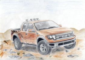 Ford F-150 Raptor Finished by daharid