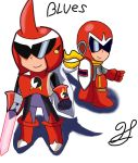 Chibi Protman classic and EXE by hec16