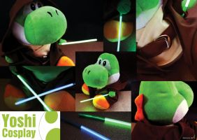 Master Yoshi ~ Star Wars Cosplay by balvana
