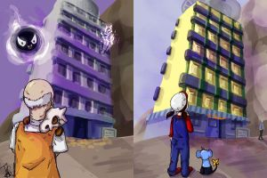 Remember remember the tower of Lavender by Teh-Sand