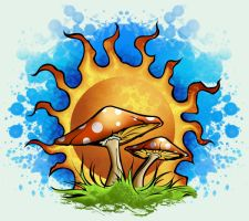 Trippy Shroomage by Formfanatic