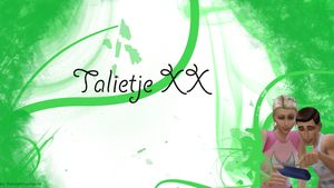 Talietje Banner by Flamingbirdofdoom