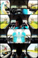 Trippy Car Ride by spider-mat