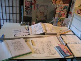 Comics Workstation by LCibos