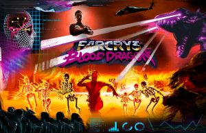 Far Cry 3 Blood Dragon by the9oodbyeman