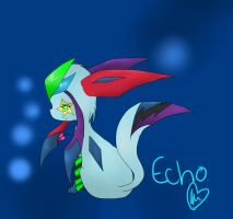 I Love Echo :) by echotheglaceon