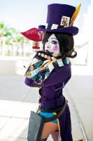 Mad Moxxi - A Kiss Goodbye by Enasni-V