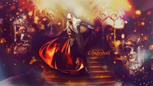 Thranduil by JacobBlacksPrincess