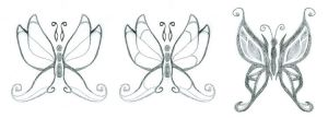 Butterfly Tattoos by cybre