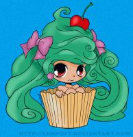 Cupcake girl by Nievre