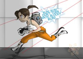 RUN. BLOODY RUN. by Sakura-Rose12