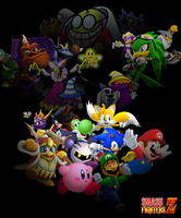 Smash Fighters Z - Fawful Saga Teaser Poster by S-Yaridovich9X