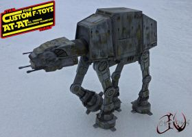 F-Toys AT-AT Custom by JVCustoms by jvcustoms