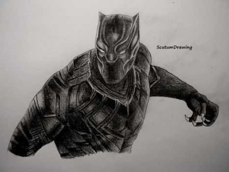 Black Panther by Scutum20