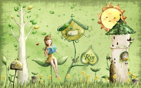 my green world by merrie91