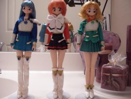 Magic Knight Rayearth Dolls by KittyChanBB