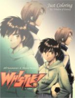 whistle just coloring manga by Kauthar-Sharbini