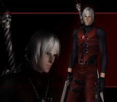 Devil May Cry 3 SE - Coatless DMC1 Dante by Elvin-Jomar