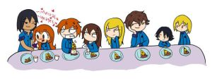 .:At the long crooked table:. by 221bee