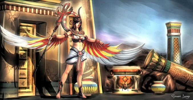 Isis - SMITE by GobGrael