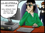 Ulquiorra Love His Fangirl by nikea777
