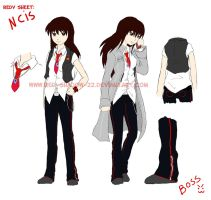 NCIS Redy ref by Red-Sinistra