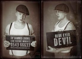 Th' Damned Crows Mugshots - Liam by Dr-Benway