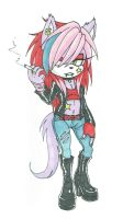 Point Commission: Sonic Scene girl by debsie911
