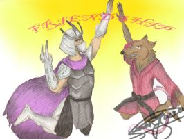 Verily, Rat we shall high five by Nativa-Basco