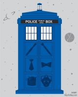 The Tardis by HeyKannaya