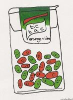 tictacs by snorasaurus