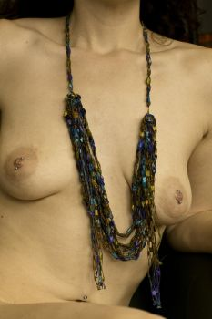 Necklace and Breasts by grandart
