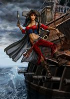 Crimson Pirate by SBraithwaite