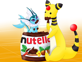 Pokemon Nutella by childpom